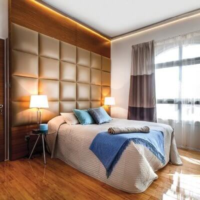 Dubai Lagoon Furnished Luxury Apartment - Bedroom | By Schon